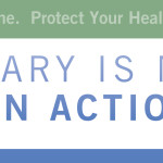 Banner that says January is National Radon Action Month