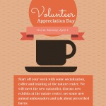 Graphic about Volunteer Appreciaiton Day