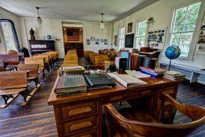 Photo of Westport Schoolhouse interior