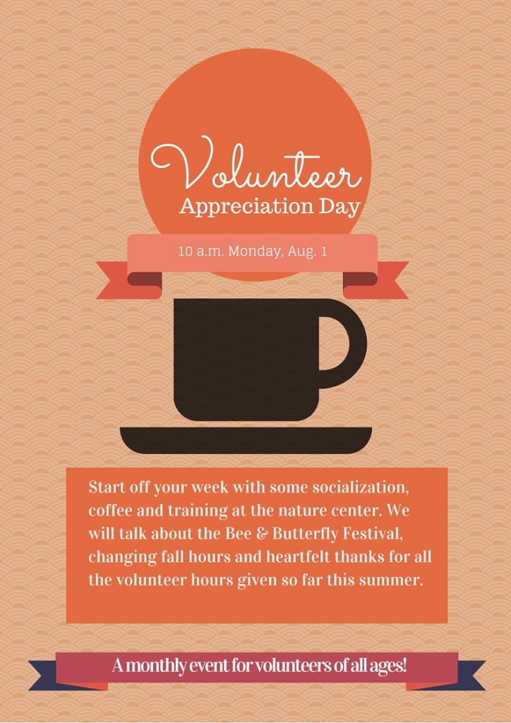 Graphic for Volunteer Appreciation Day