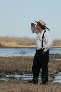 Photo of Brian Ellis as John James Audubon
