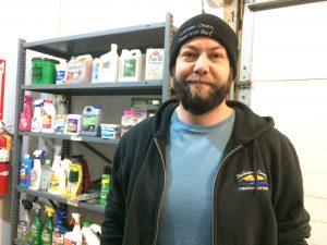 Photo of manager Charles Vigdal