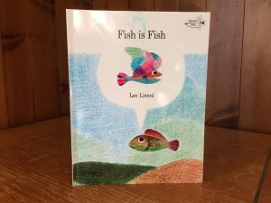 """Photo of """"Fish is Fish"""" book"""