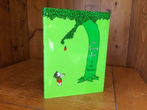 """Photo of """"The Giving Tree"""" book"""