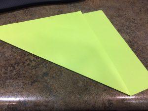 Photo of folding paper