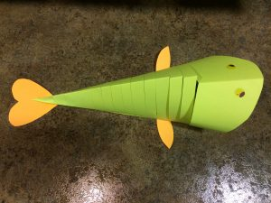 Photo of a completed fish