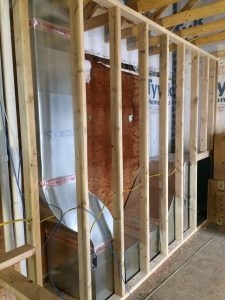 Photo of hvac system in construction
