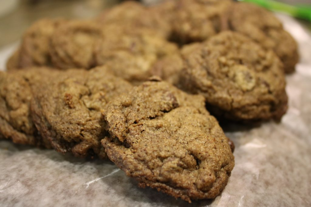 Photo of acorn flour cookies