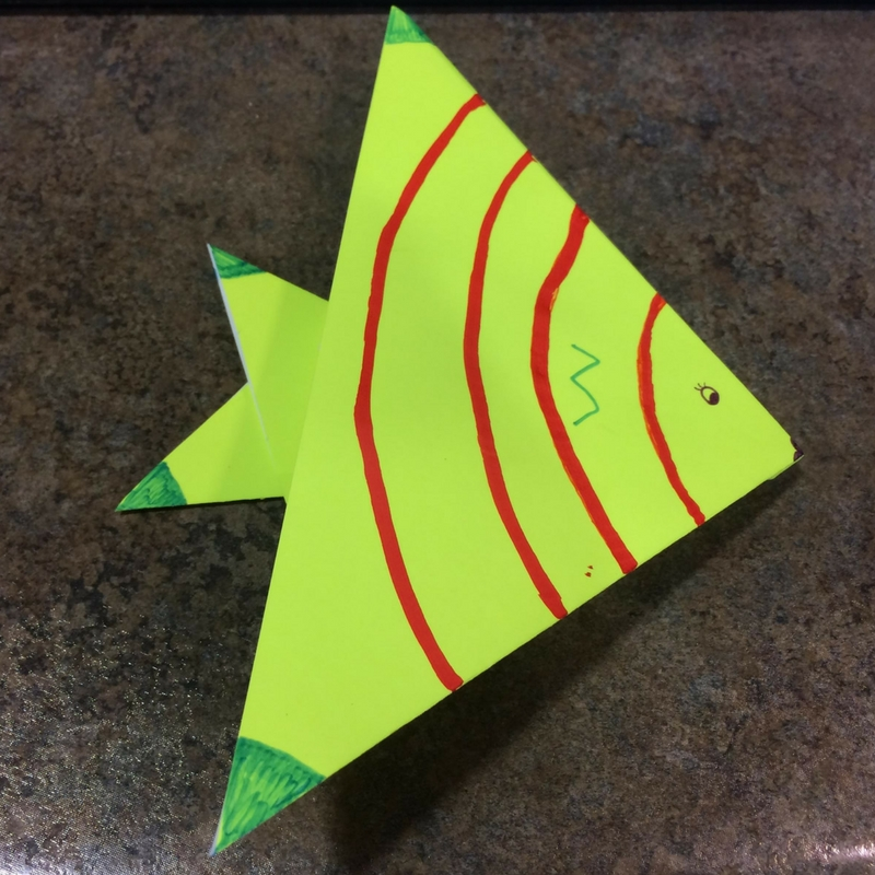 Photo Of An Origami Fish