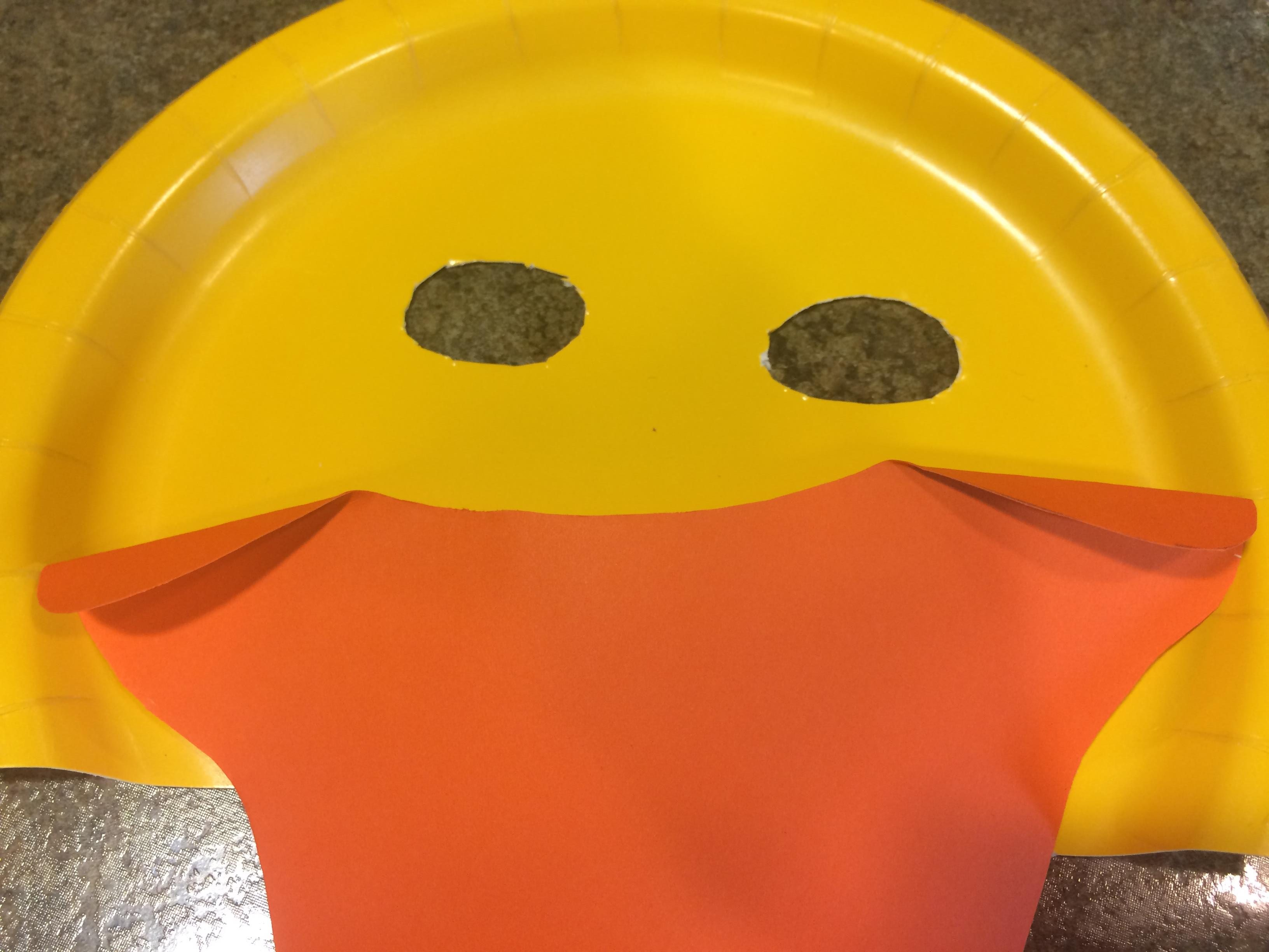 Photo of a duck mask craft & Make your own duck mask from a paper plate \u2013 Dickinson County ...
