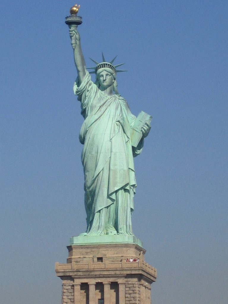 Photo of the Statue of Liberty