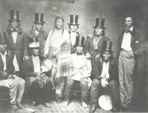 Photo of Dakota Indians in Washington D.C.