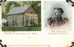 Postcard from historic site