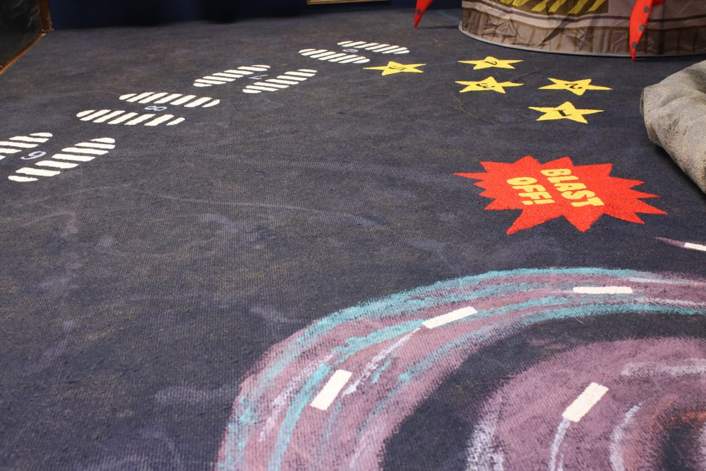 Kids area floor