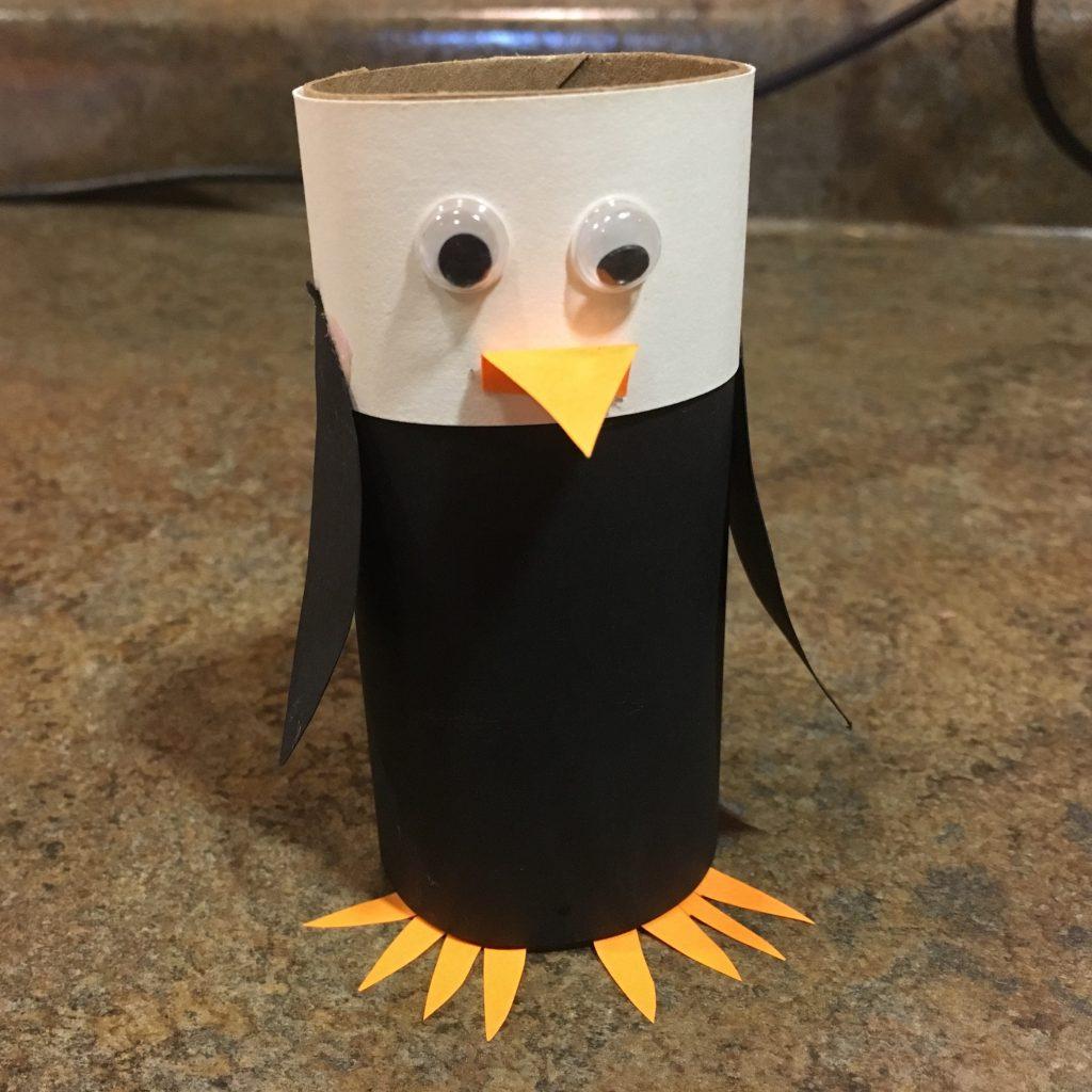 Photo of a bald eagle craft