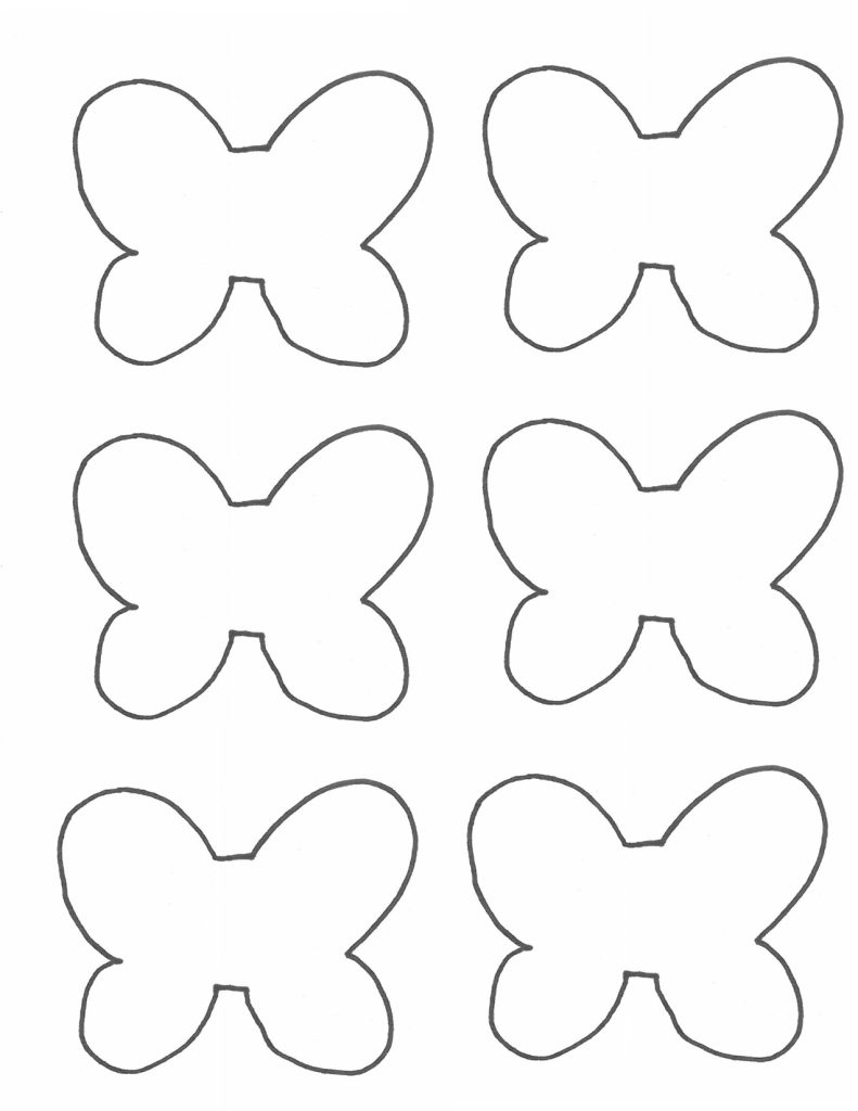 Photo of butterfly ring template