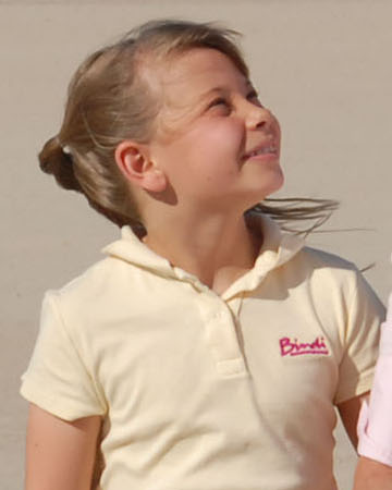 Photo of young Bindi Irwin