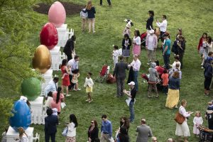 """""""The 2019 White House Easter Egg Roll"""" by The White House is marked with CC PDM 1.0"""