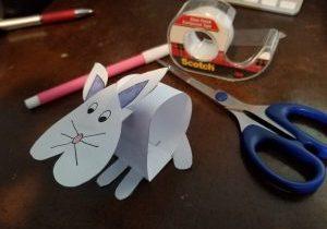 Photo of bobblehead bunny